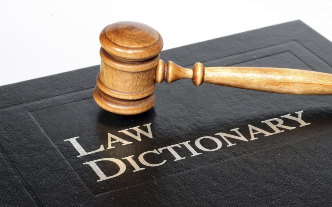 Glossary of Legal Terms in the United States